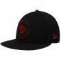 Nsw Era Texas Rangers Black Tonal Pop 59fifty Fitted Hat
