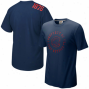 Nike Chicago Cubs Navy Blue Around The Horn T-shiry