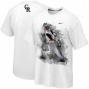 Nike Troy Tulowitzki Colorado Rockkies Player T-shirt - White