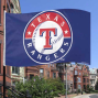 Texas Rangers 3' X 5' Royal Blue Logo Flag
