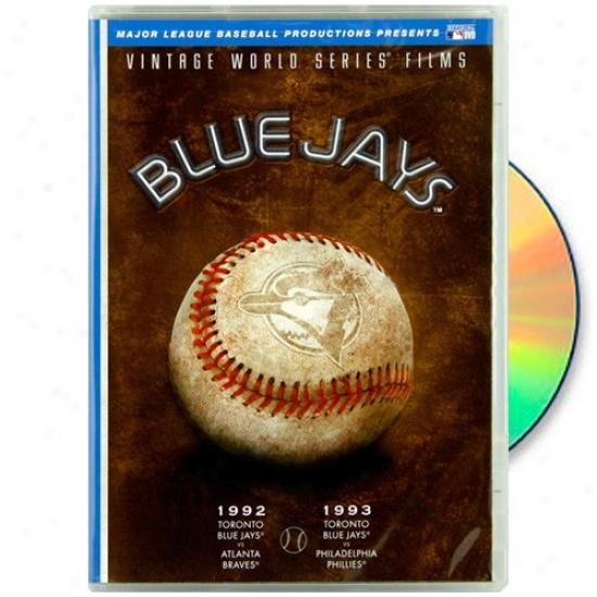 Toronto Blue Jays 1992 & 1993 Vintage World Succession Films Dvd