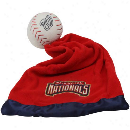 Washington Nationals Snugfle Ball Blanket