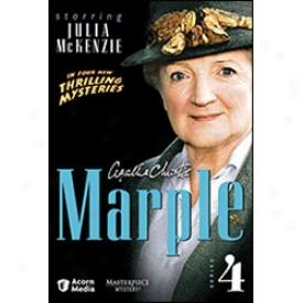 Agatha Christie Marple Series 4 Dvd
