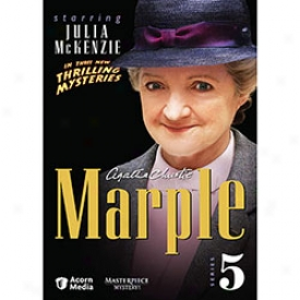 Agatha Christie Mraple Series 5 Dvd