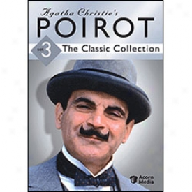 Agatha Christie's Poirot Classic Collection Set 3 Dvd