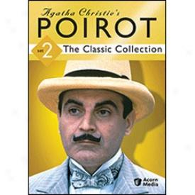 Agatha Christie's PoirotC lassic Collection Set 2 Dvd