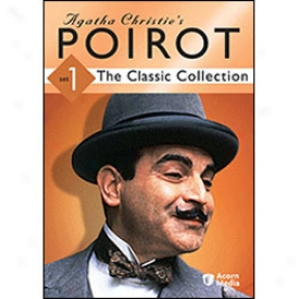Agatha Christie's Poirot Classic Collection Set 1 Dvd