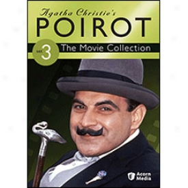 Agatha Christie's Poirot Movie Collection Set 3 Dvd