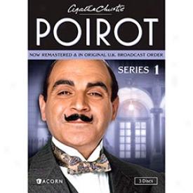 Agatha Christie's Poirot Series 1 Dvd