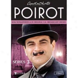 Agatha Christie's Poirot Series 3 Dvd