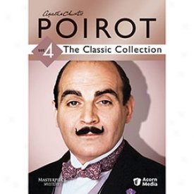 Agatha Christie's Poirot The Classic Collection Set 4 Dvd