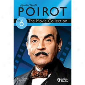 Agatha Christie's Poirot The Movie Collection Set 6 Dvd