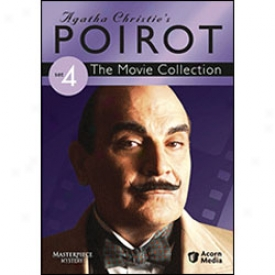 Agatha Christie's Poirot The Movie Collection Set 4 Dvd
