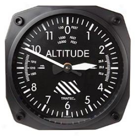 Aircraft Instruments Clock