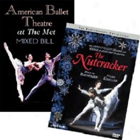 American Ballet Theatre Set Nutcracker Suite & At The Met Dvd