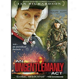 An Ungentlemanly Act Dvd