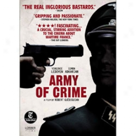 Army Of Crime Dvd Or Blu-ray