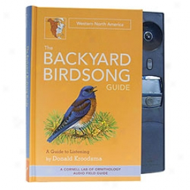 Backyard Songbird Guide West Book Book