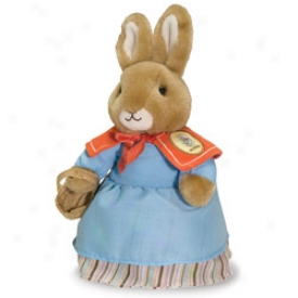 Beatrix Potter Plush Collectible: Mra. Rabbit