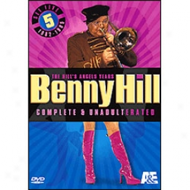 Benny Hill's Angelw Years Set 5 Dvd
