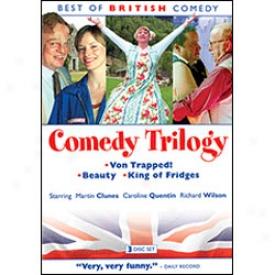 Best Of British Comedy Comedu Trilogy Dvd