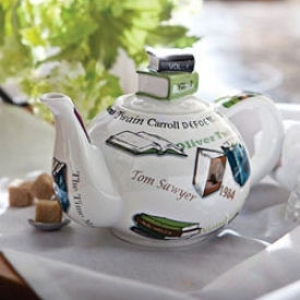 Book Lover's Teapot