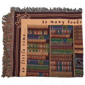 Book Lovers Throw