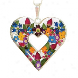 Bouquet Pendannt Necklace