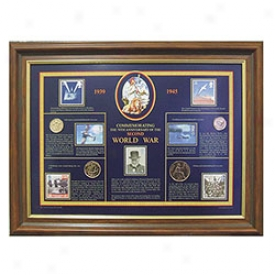 Britain A tWar Stamp & Coin Collection