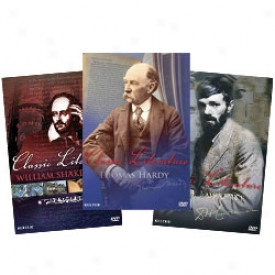 Classic Literature Bios: Shakespeare, Lawrence And Hardy Dvd