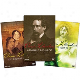 First-rate Literature Bios: The Bronte's, Austen And Dickens Dvd