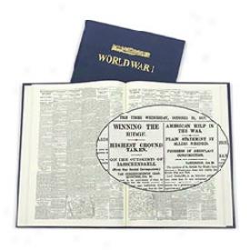 Commemorative London Times World War I Newspaper Book