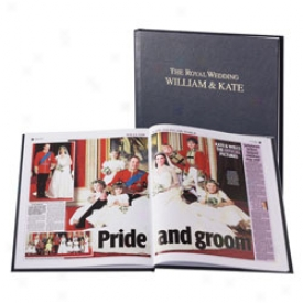 Commemorative Royal Wedding Gazette Main division Book