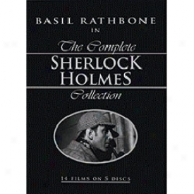 Complete Sherlock Holmes Collection With Basil Rathnone Dvd