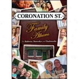 Coronation Street Family Albums Dvd