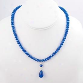 Crystal Rondelles Necklace