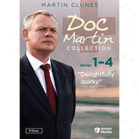 Doc Martin Collection Series 1 To 4 Dvd