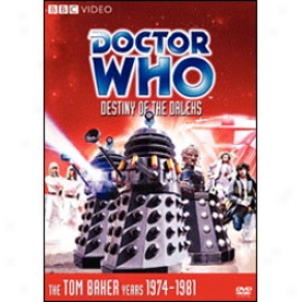 Doctor Who Destiny Of The Daleks Dvd