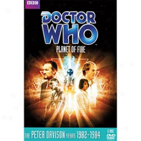 Doctor Who Planet Of Fire Dvd