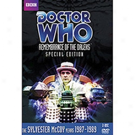 Doctor Who Monument Of The Daleks Specific Edition Dvd