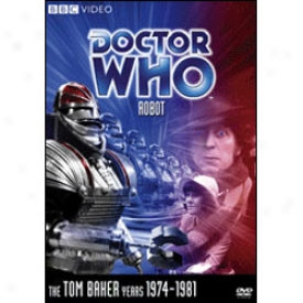 Doctor Who Robot Dvd