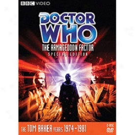 Doctor Who Thhe Armageddon Factor Special Edition Dvd