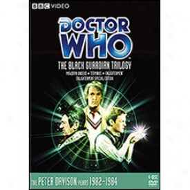 Doctor Who The Black Guardian Trilogy Dvd