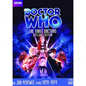 Doctor Who The Three Doctors Special Dvd