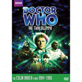 Doctor Who Th Twin Dilemma Dvd