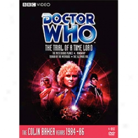 Doctor Who Trial Of A Time Lord Dvd