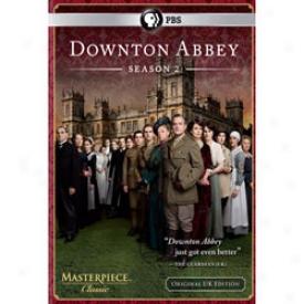 Downton Abbey Season 2 Dvd Or Blu-ray
