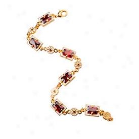 Elizabethan Garnte Bracelet