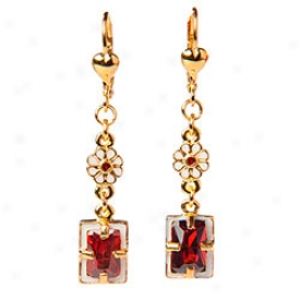 Elizabethan Garnet Earrings