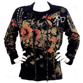 Flowers Of The East Jacket Small-black